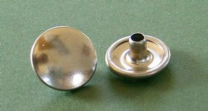 Stainless Steel Button
